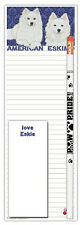 American Eskimo Dog Notepads To Do List Pad Pencil Gift Set
