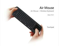 Measy RC12 Wireless Air Mouse Keyboard 2.4Ghz touchpad handled Black For TV Box