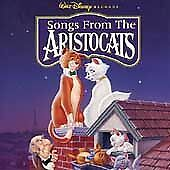 Various Artists Songs From The Aristocats CD SAW MARK ON SPINE #253