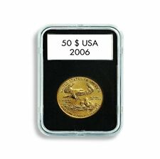 Lighthouse Quickslab 33mm Coin Capsule ReClosable Slab for 1oz Gold Eagle Qty 5