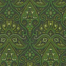 Fabulous Green Vintage Original Wallpaper