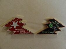 CHALLENGE COIN ISAF USFOR-A STRATCOM KABUL AFGHANISTAN LARGE HEAVY