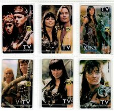 XENA - HERCULES COASTCALL INTERNATIONAL AUSTRALIA PHONE CARD SET OF 6 - RARE