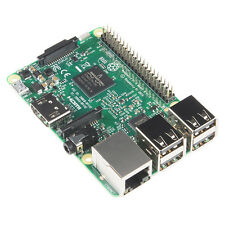 Raspberry Pi 3 Model B 64-bit Quad core 1.2 GHz ARM CPU with WiFi and Bluetooth