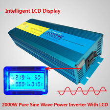2000W Peak 4000W Pure Sine Wave power inverter DC 12V TO AC 220V - 240V