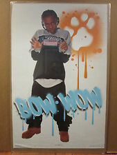 vintage Bow wow Poster original old school Rap 2002 250