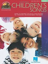 "PIANO PLAY-ALONG VOLUME 9 ""CHILDREN'S SONGS"" PIANO/V/GUITAR MUSIC BOOK/CD-NEW!!"