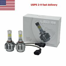 H11 6000K 120W 12000LM 2016  4-Sides LED Headlight Kit Low Beam Bulbs High Power