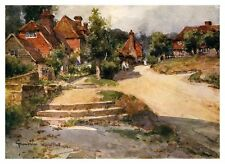 Groombridge Sussex Wilfred Ball 1903 monté impression WOW !