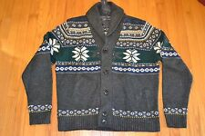 Tommy Hilfiger Shawl Neck Cardigan Fair Isle Sweater Men's Size: X-Large NWT