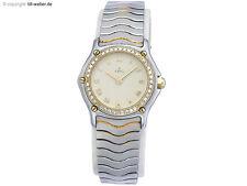 """Ebel """"Classic"""" Stahl Gold Diamanten"""