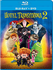 Hotel Transylvania 2 (Blu-ray/DVD, 2016, 2-Disc Set, Ultraviolet)