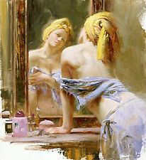 Pino Morning Reflections S/N w/COA CANVAS $600SRP-OFFER?