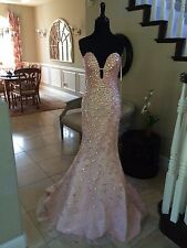 $799 NWT JOVANI MERMAID PROM/PAGEANT/FORMAL/WEDDING DRESS/GOWN #23840 SIZE 0