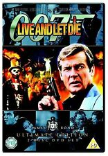 James Bond - Live and Let Die Roger Moore, Jane Seymour Brand New Sealed DVD