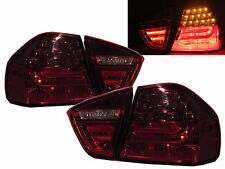 On Sale-E90 2005-2008 Pre-Faclift Saloon LED Fari Posteriori Frecce RED for BMW