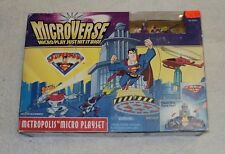 SUPERMAN MICROVERSE METROPOLIS PLAYSET 100% COMPLETE PARASITE STAR LABS PLANET