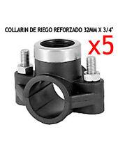 """COLLARIN DE RIEGO REFORZADO 32MM X 3/4"""" (5 Unidades)"""