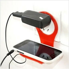 Linked Wall Charging Rack Holder Fashion Colorful For Cell Phone Charger New