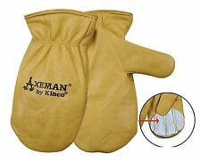 Kinco 1930 Axeman Insulated Thermal Winter Cowhide Leather Mitts Mittens Medium