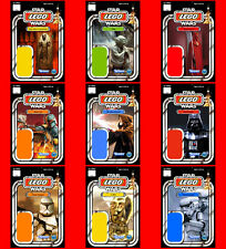 STAR WARS CUSTOM LEGO CARDBACKS 4X6