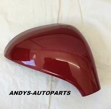 PEUGEOT 207 06 - 2013 WING MIRROR COVER LH OR RH IN RED BABYLONE