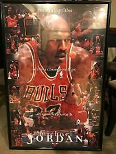 "Michael Jordan -Professionally Framed Poster 24"" x 36""- Costacos Sports"