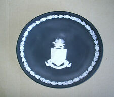 Rare Wedgwood Jasperware Black Cayman Islands Plate UNPRINTED