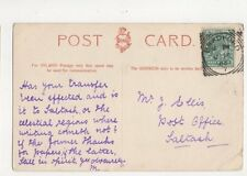 Mr J Ellis Post Office Saltash 1904 420a