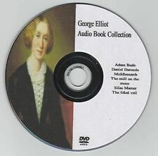 George Eliot 10 Audio Books on MP3 DVD 128hrs Adam Bede Deronda Middlemarch