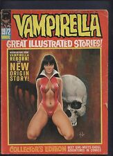 Vampirella Magazine 1972 annual warren horror vampire comic