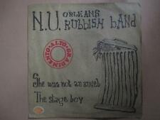 NU Orleans Rubbish Band, She was not an angel, blues/prog, p/sleeve, Italian pr