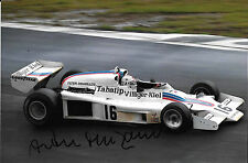 Arturo Merzario SIGNED , Shadow DN8 , Austrian Grand Prix 1977