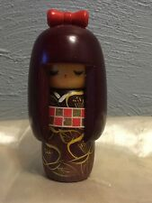 Vintage Japanese Wooden Kokeshi Doll  2of3 Japan