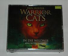 4 CD BOX/SEALED NEU NEW/ERIN HUNTER/1/WARRIOR CATE/IN DIE WILDNIS/Beltz