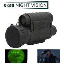 WG-50 Infrared Night Vision IR Digital Monocular 6x50 IPX4 350m Video Recoder HD