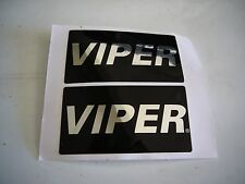 VIPER ALARM WINDOW STICKER DECALS