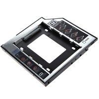 """Universal 2.5"""" 2nd 9.5mm Ssd Hd SATA Hard Drive HDD Caddy Adapter Bay for Laptop"""
