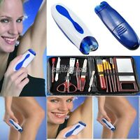 ELECTRIC WIZZIT HAIR REMOVAL REMOVER EPILATOR MEN WOMAN WIZIT Makeup Lot WST