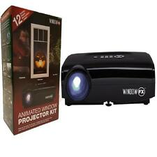 Halloween Window FX Projector Kit Seasonal Animated Window Display - Brand New!