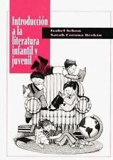 Introduccion a la Literatura Infantil y Juvenil by Isabel Schon and Sarah C....