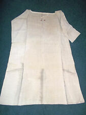 "Vintage Linen French Work/Night Shirt/Tunic Initials ""TF""?"
