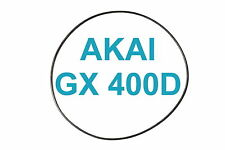 COURROIES SET AKAI GX 400 D MAGNETOPHONE A BANDE EXTRA FORT NEUF FABRIQUE GX400D