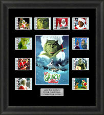 HOW THE GRINCH STOLE CHRISTMAS MOUNTED FRAMED 35MM FILM CELL MEMORABILIA