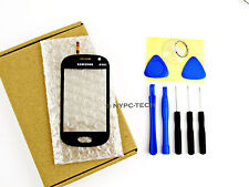 FOR SAMSUNG GALAXY FAME GT-S6810P BLUE DIGITIZER TOUCH SCREEN GLASS+TAPE TOOLS
