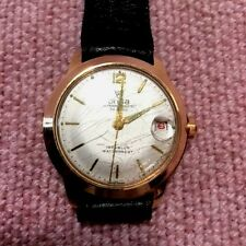 Onsa Wristwatch Super Automatic 30 jewel (rubis) 10 Mikon Gold Plated, ca1960's