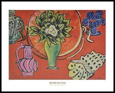 Henri Matisse still life with Magnolia poster art imprimé avec cadre alu 40x50cm
