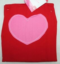 New Red Apron Pink Valentines Heart Cooking Bib