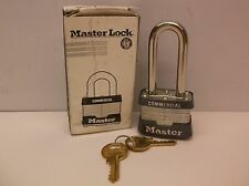 MASTER LOCK 3KALH Padlock KA 2 In H 4 Pin Steel (A19)