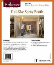 Fine Woodworking's Spray Booth for Woodworkers Plan by Geoff Guzynski (2012,...